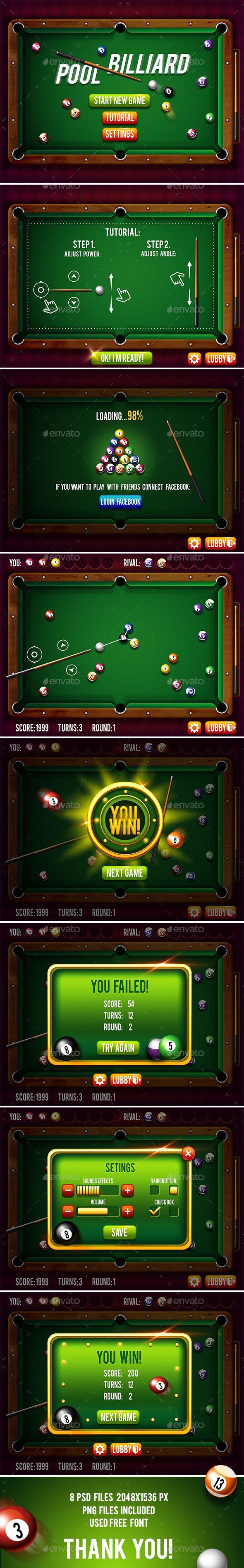 Main Game Billiard : billiard, Billiard, Billiards, Game,, Billiards,, Games