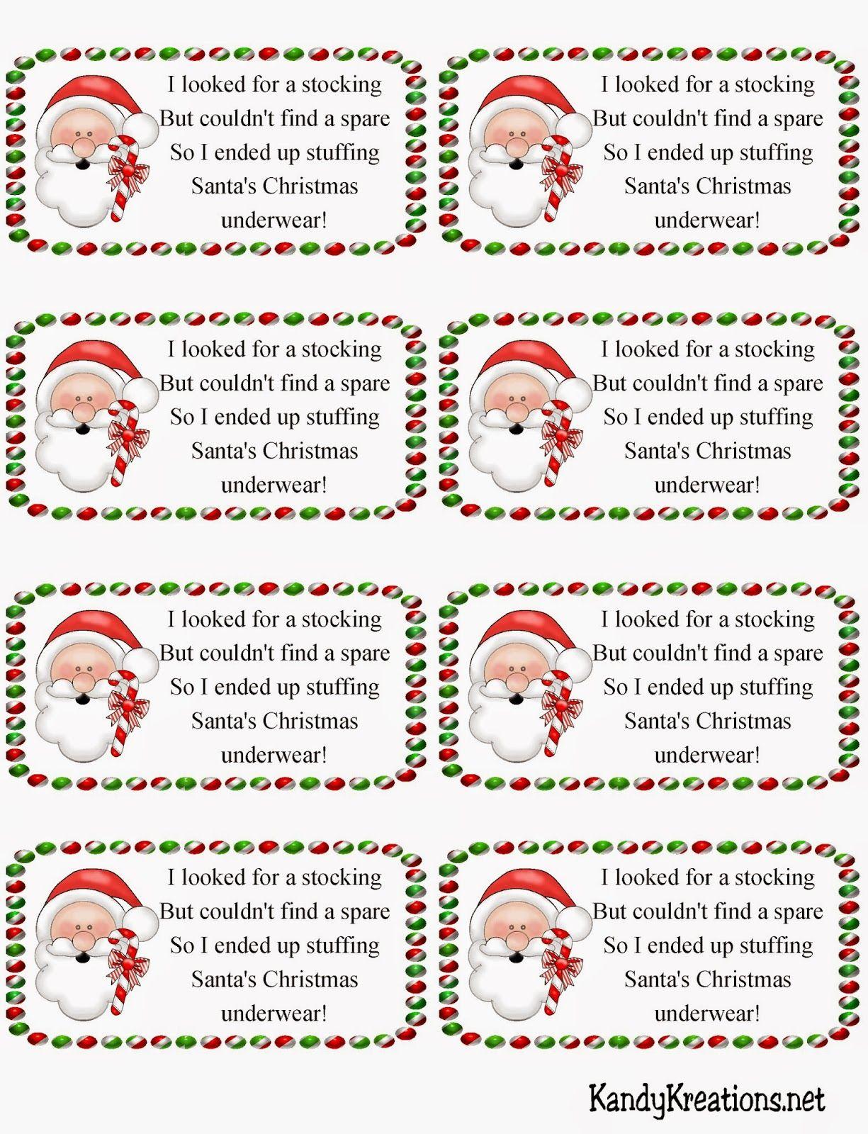 Satisfactory image throughout secret santa tags printable
