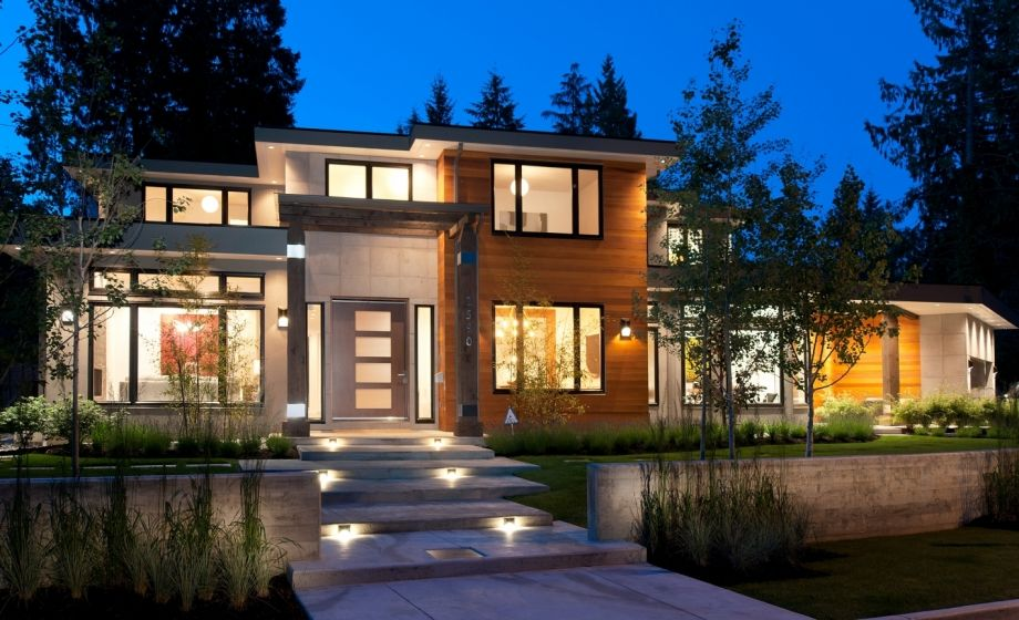 Spectacular contemporary homes in vancouver canada