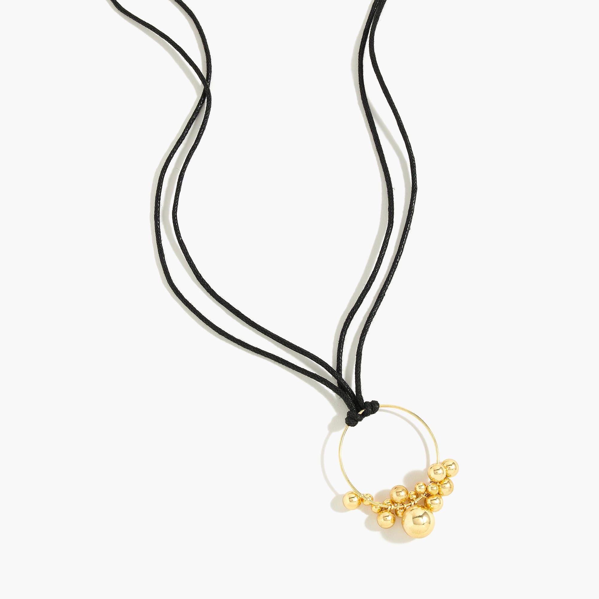 Orbs pendant necklace pendants