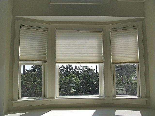 Bay Window Shades Window Roman Shade Honeycomb Blinds Cellular