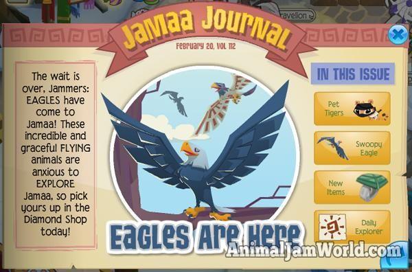 Image result for animal jam eagle update