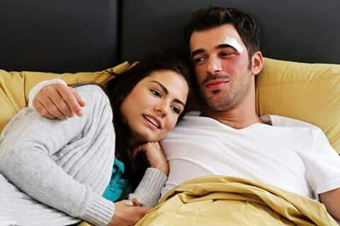Burak And Asli Turkish Actors Couple Posing Actresses