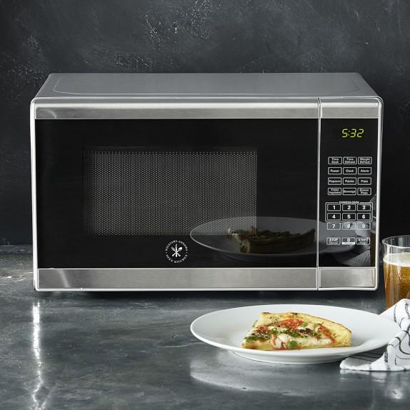 Williams Sonoma Open Kitchen Stainless Steel Microwave 17 1 2 X 14 X 10 High 7 Stainless Steel Microwave Replacing Kitchen Countertops Kitchen Countertops