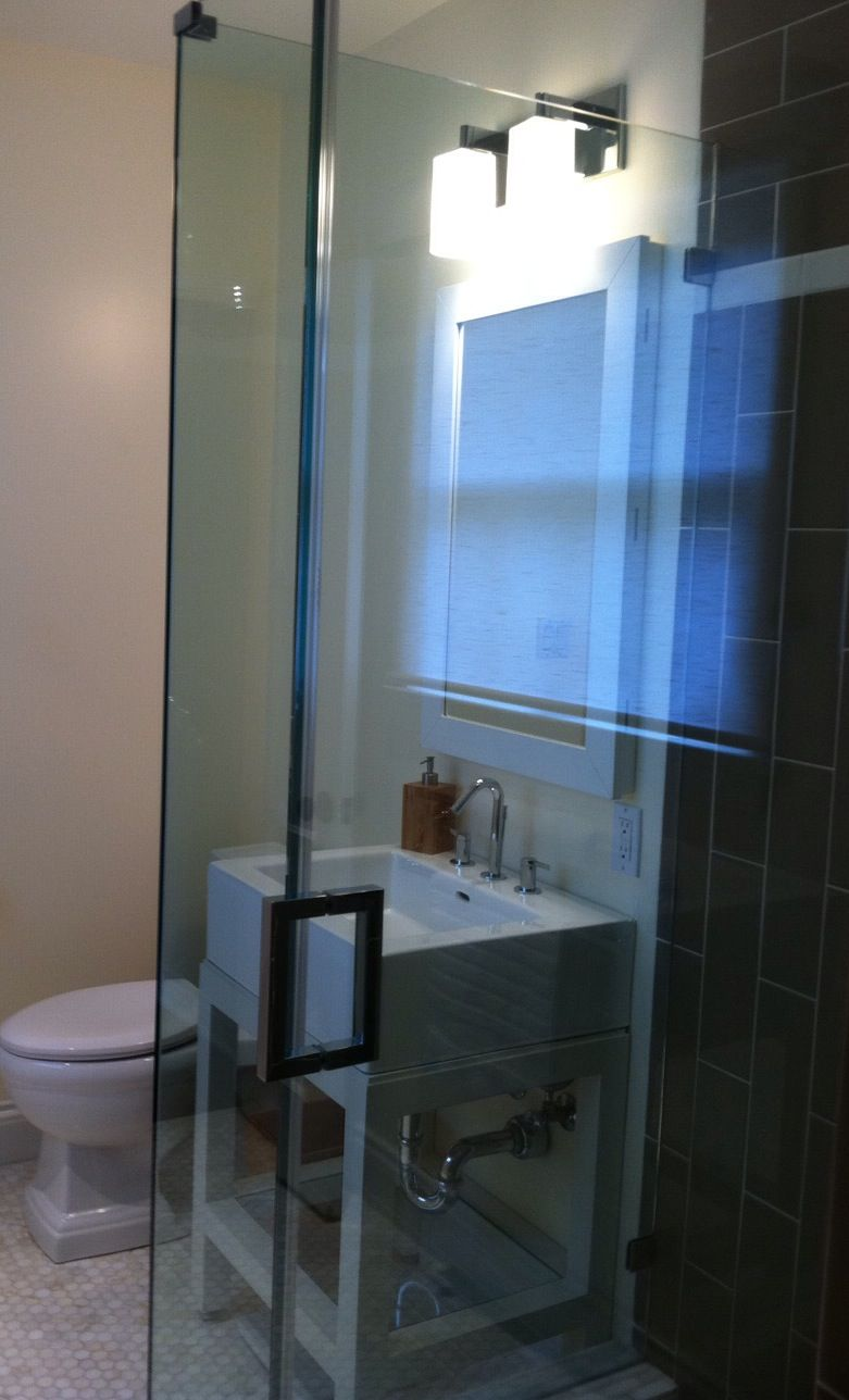 Pasadena Ca Residence Guest Bathroom Remodel Jill