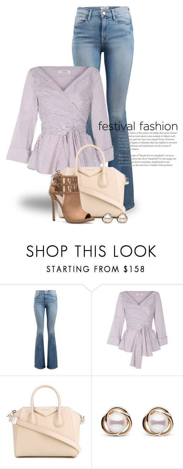 """Anything Goes! 3863"" by boxthoughts ❤ liked on Polyvore featuring Frame, Dorothee Schumacher, Givenchy and Trilogy"