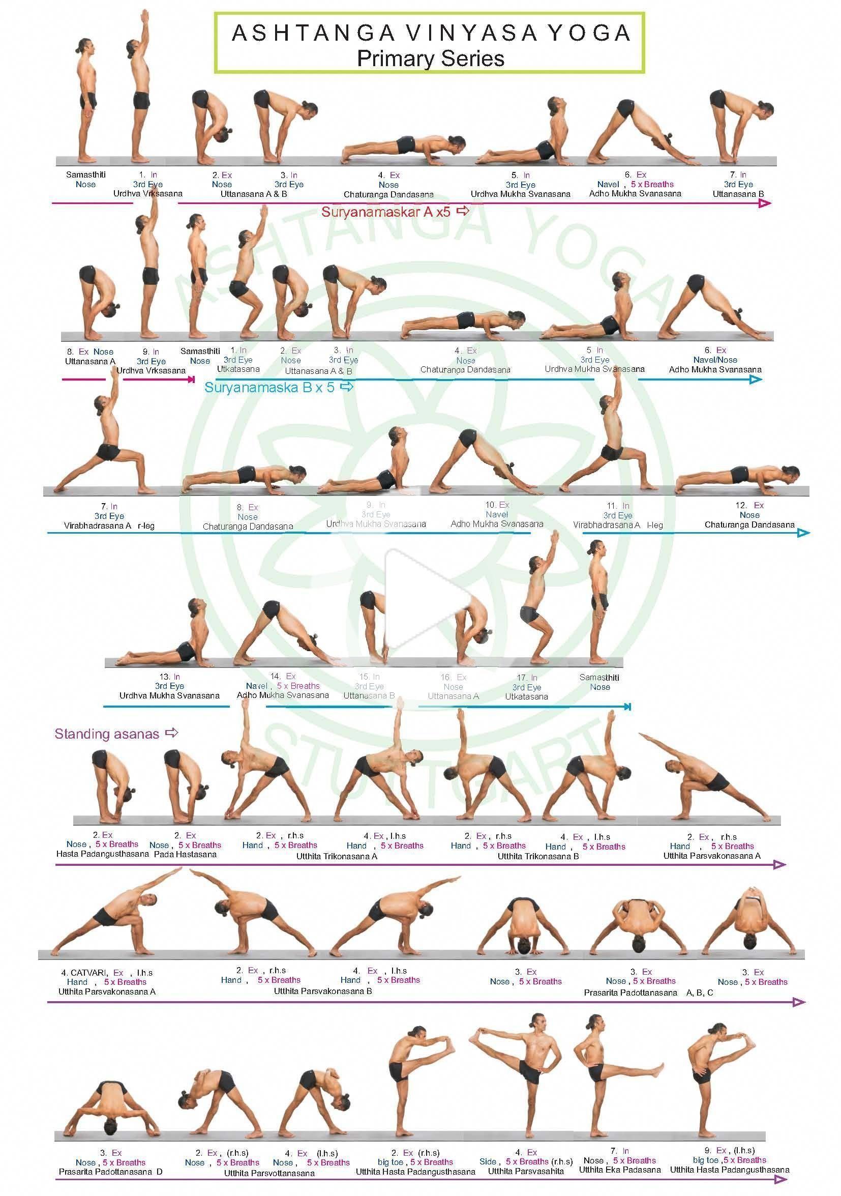 Pin on Ashtanga yoga in 2020   Ashtanga vinyasa yoga ...
