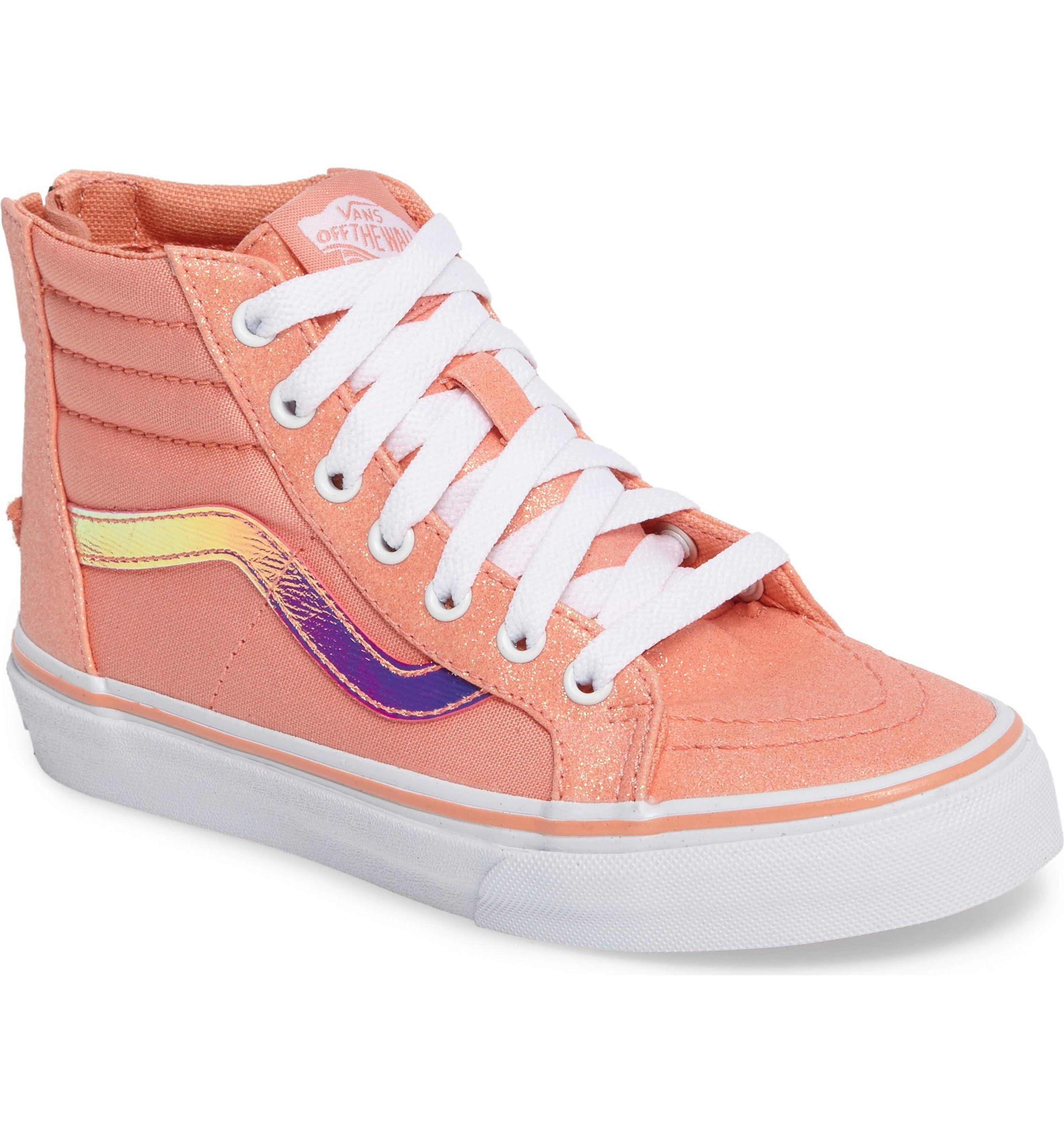 6a16976baf8a83 Main Image - Vans Sk8-Hi Zip Sneaker (Baby