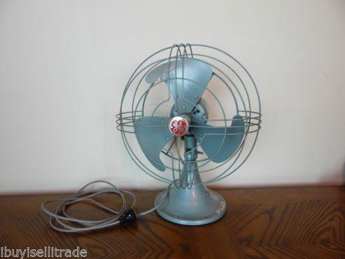 Vintage 10 General Electric Vortalex 2 Speed Oscillating Fan Fm10v41 No 84 Oscillating Fans Fan General Electric