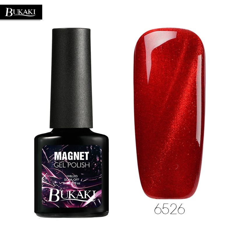 BUKAKI 22 Colors Gel Nail Polish 3D Diamond Cat Eyes Gel Varnish ...