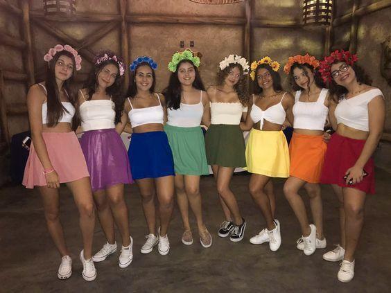 90+ Beste Halloween-Kostüme der DIY-Gruppe für dein Girl Squad – Hike n Dip