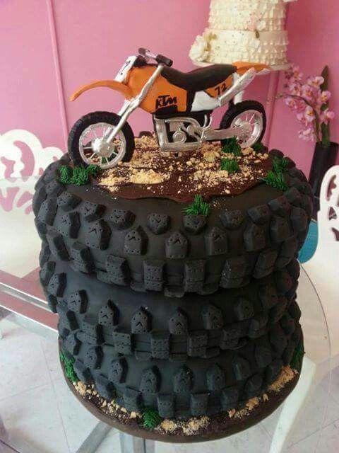 Dirtbike Cake Party Ideas Dirt Bike Cakes Bike Cakes