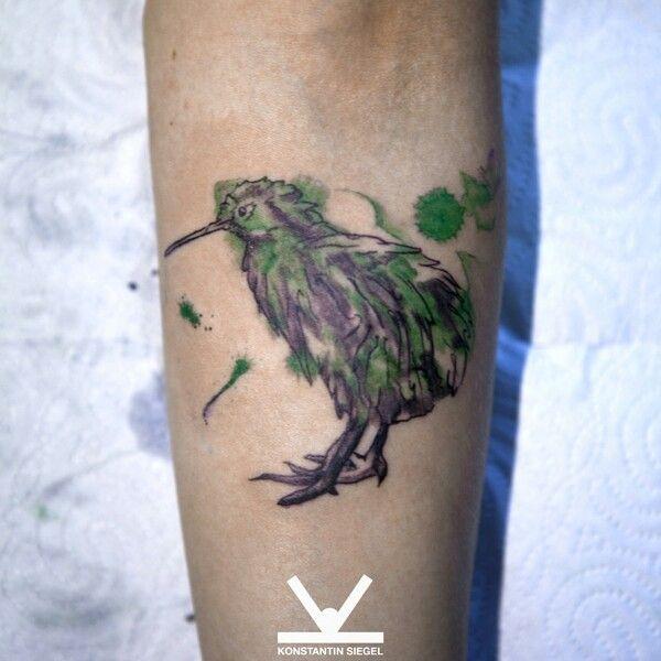 Maori Kiwi Tattoo: Kiwi Bird
