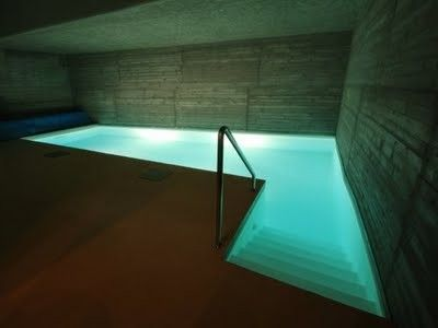 Private indoor pool  private indoor concrete pool, prague, czech republic | Swimming ...