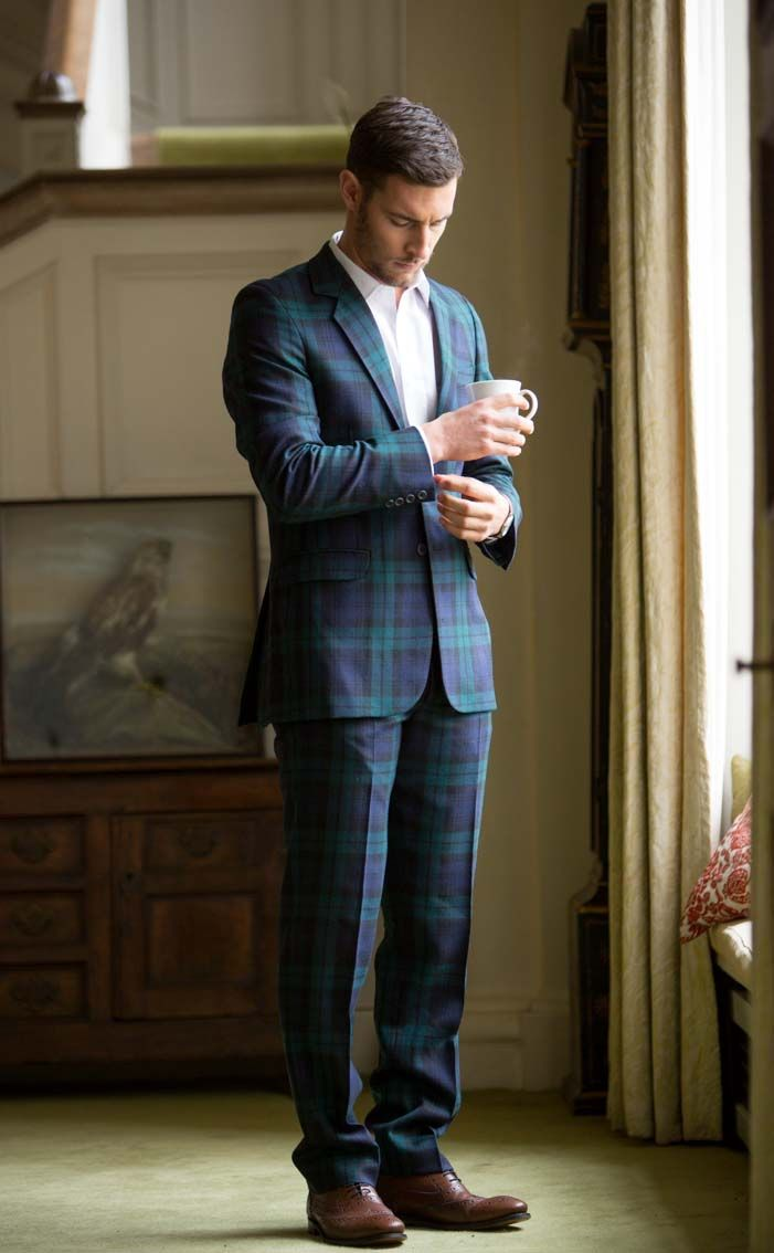1000  images about Tartan Suit Love on Pinterest | Ralph lauren