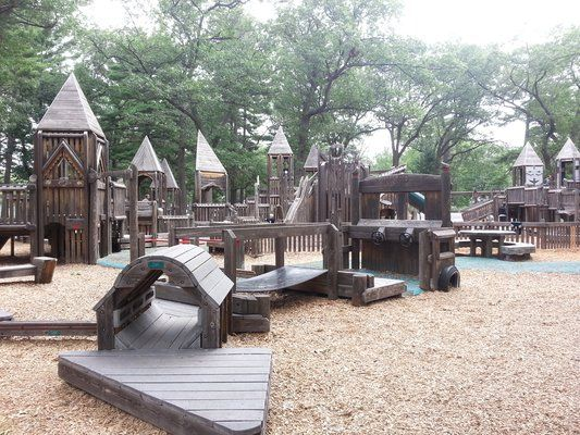 The Kids Cove Playground Is Located In The South East