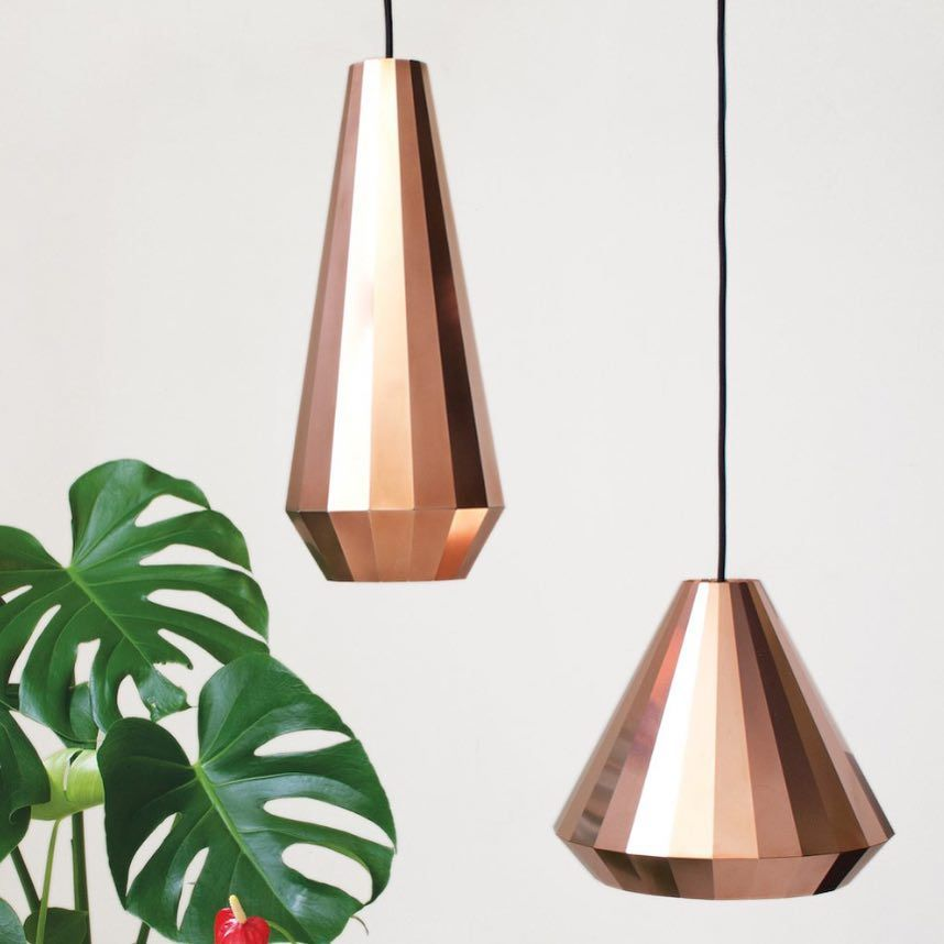 Iconic Lighting On Instagram Folded Copper Pendants By
