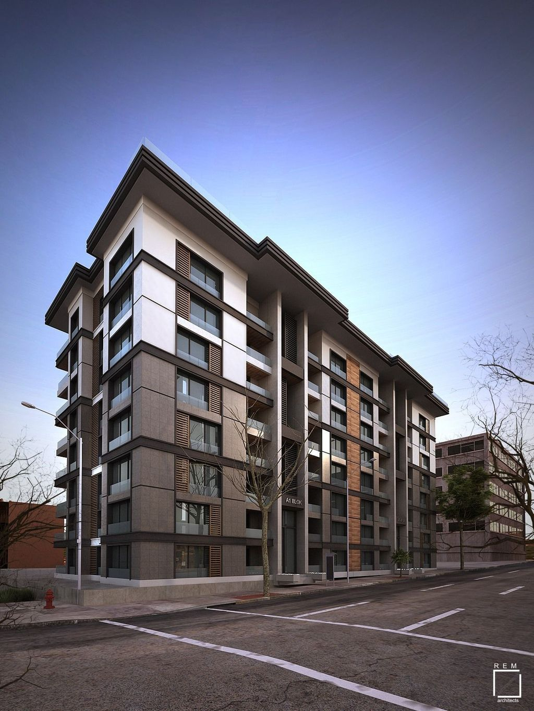 Amazing Apartment Building Facade Architecture Design