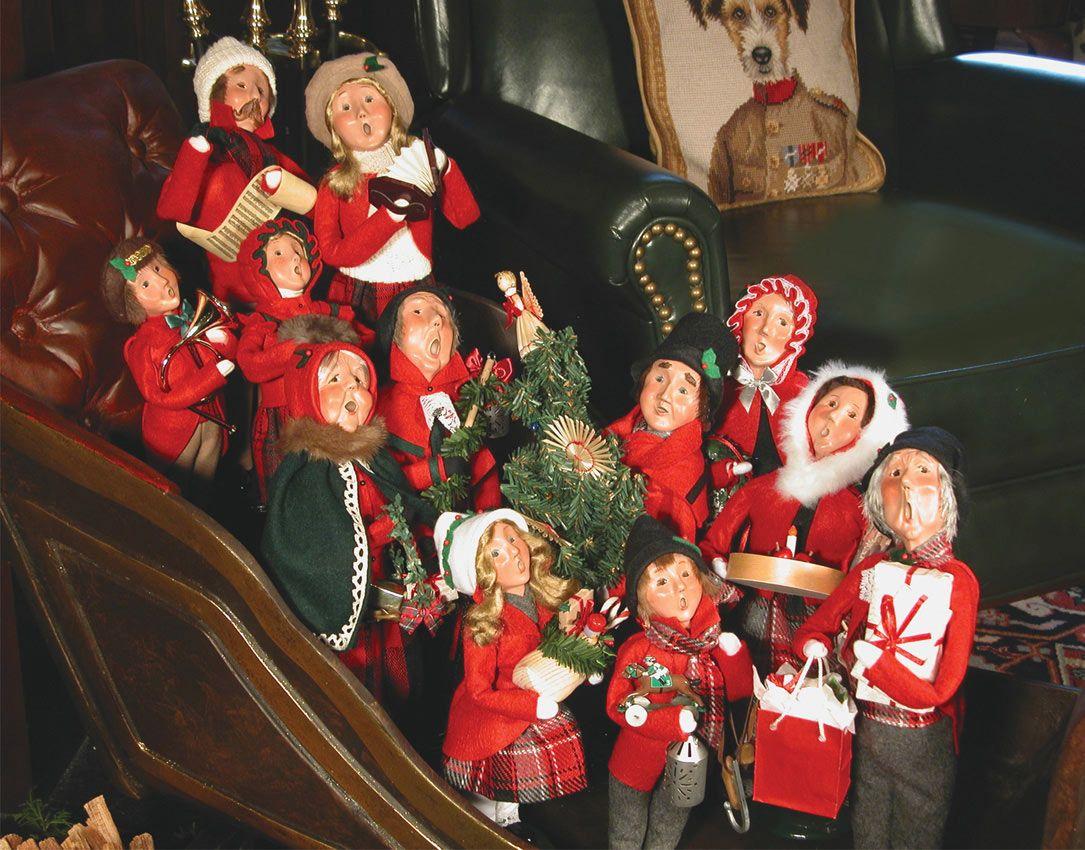 Christmas carolers figurines for sale - Podobny Obraz Choirchristmas