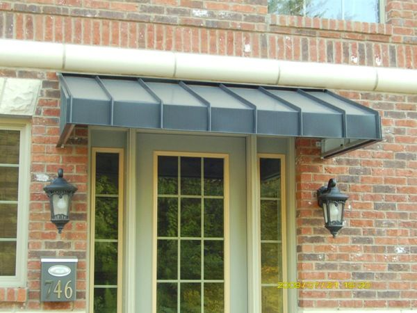 how to build a front porch awning