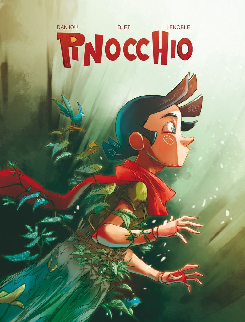 Character redesign. Pinocchio by ~Djetho on deviantART