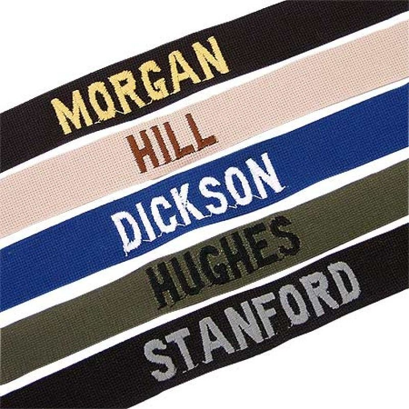Name Tapes Military, Military outfit, Names