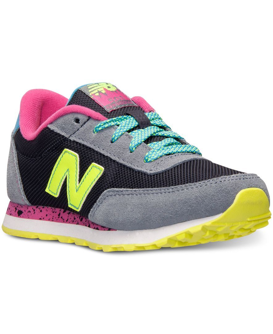 New balance girls 501 casual sneakers from finish line