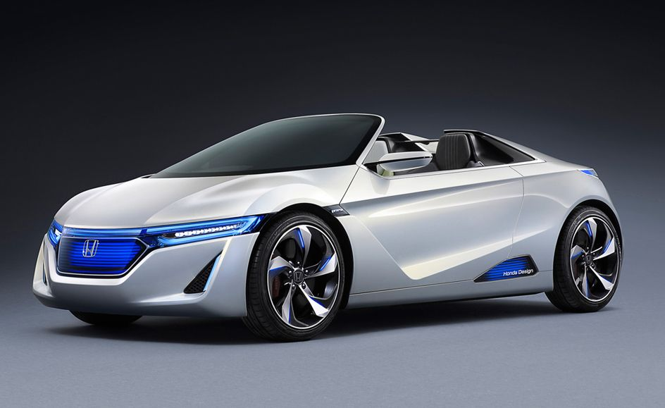 honda ev ster 01 amazing super sport concept exotic cars. Black Bedroom Furniture Sets. Home Design Ideas