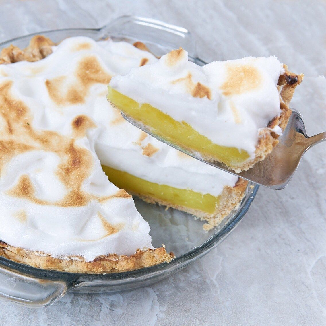 Vegan Lemon Meringue Pie - Dr Pamela RD #lemonmeringuepie