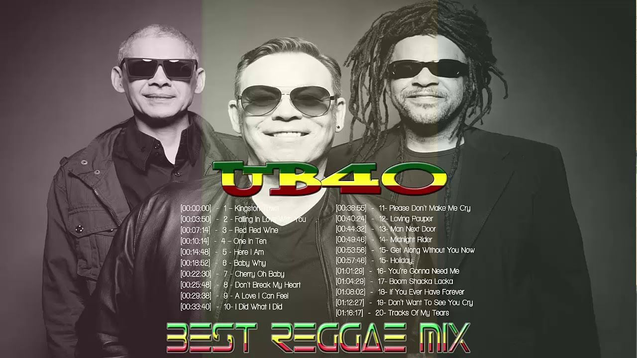 UB40's Greatest Hits | Best Songs of UB40 - Full Album UB40