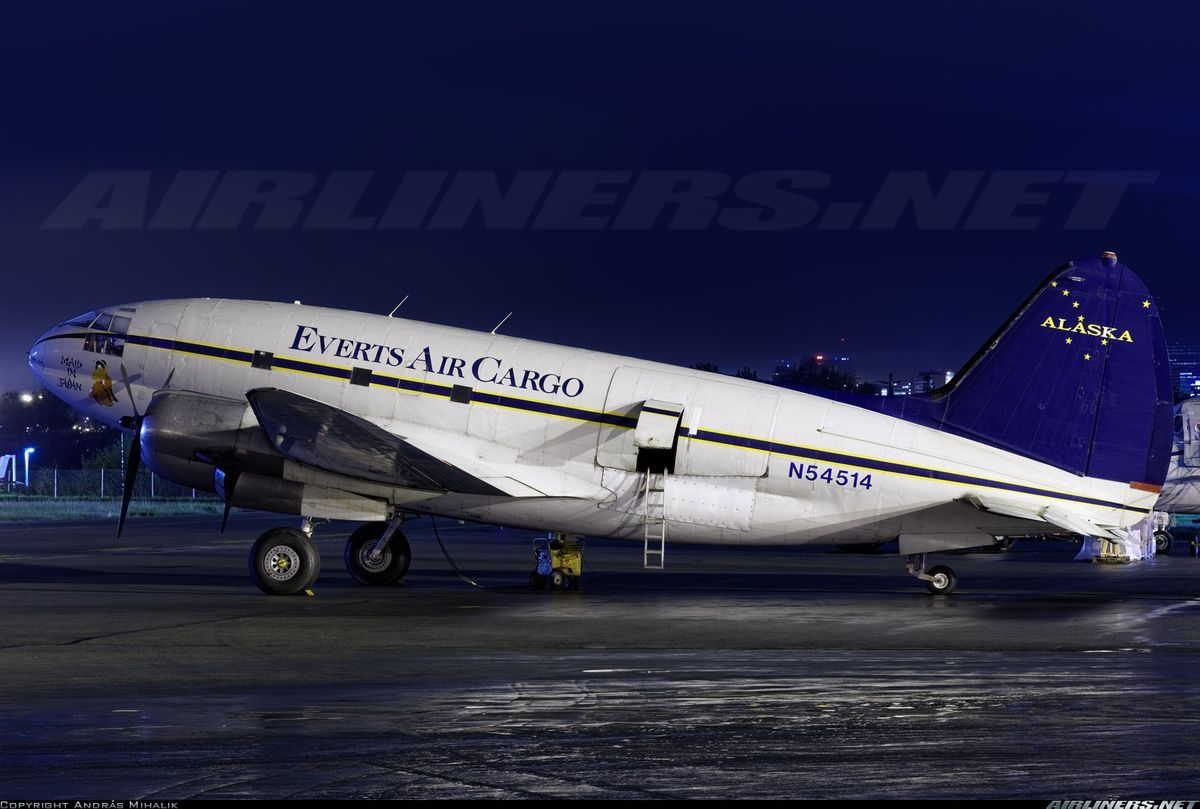 Curtis C46D Anchorage, Alaska