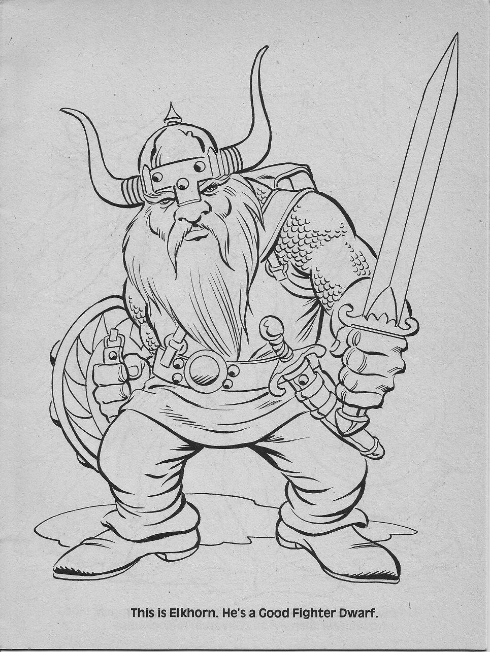 Add Characters Pg 17 Jpg 965 1285 Dragon Artwork Coloring Books Dungeons And Dragons Characters