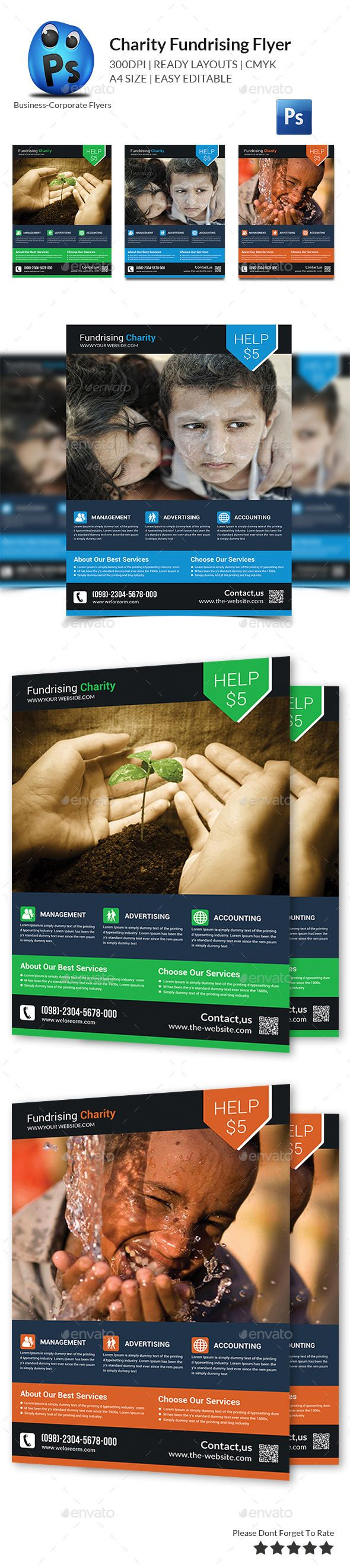 Charity Fundraising Flyer Templates  Flyer Template Fundraising