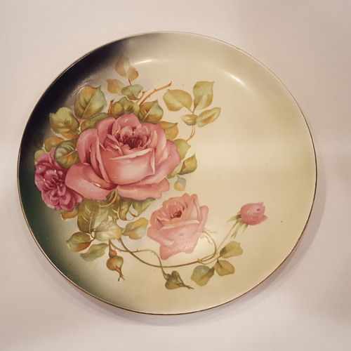 Antique Rose Plate (Free Shipping) & Antique Rose Plate (Free Shipping) | Antique Plates | Pinterest ...