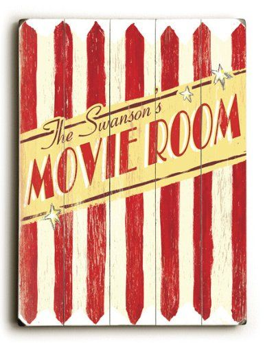 Family Movie Room (Personalized) 30\