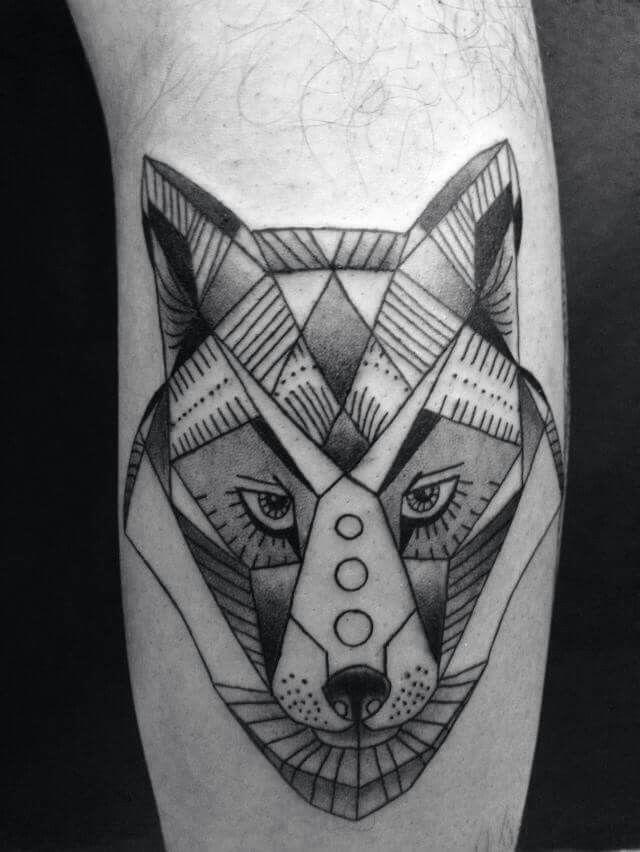 Fox Tattoo Animal Geometric Tattoo Animal Tattoos Fox Tattoo