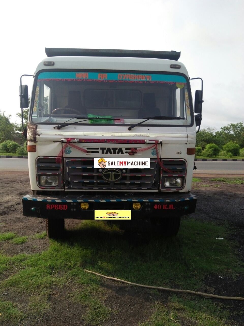USED CONSTRUCTION EQUIPMENT FOR SALE IN INDIA. USED TATA 2518 HYVA FOR SALE  IN chhatishgadh AT salemymachine.com