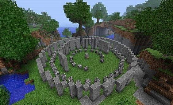 Stonehenge Minecraft Project minecraft Pinterest Minecraft