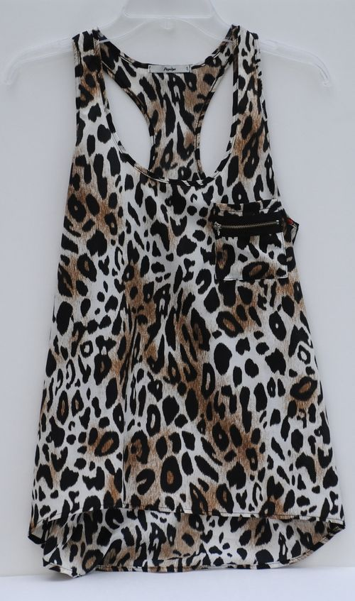 Cute Leopard Tank Top - Only $5.99