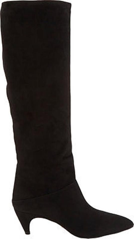 cheap sale browse Prada Suede Zip-Up Knee-High Boots good selling cheap price free shipping eastbay tXl6I
