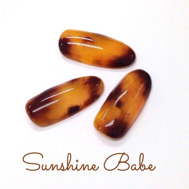 ご質問を多く頂いている、 NEWテクニックを使った✨ #べっ甲ネイル のやり方、 撮影をして、ブログにUPします♡ しばらくお待ちください♡  #sunshinebabe #nails #nailart #naildesign #nailstagram #love #JapaneseNailArt  #ネイル #サンシャインベビー #美甲 #gel甲 #指甲 #指甲彩繪 #fashion #kawaii #네일 #네일아트 #光療  #光療凝膠 #BWJ #べっ甲
