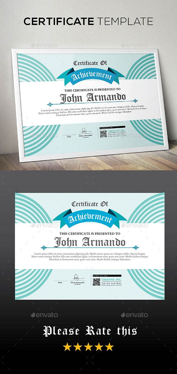 Certificate Certificate Ai Illustrator And Illustrators