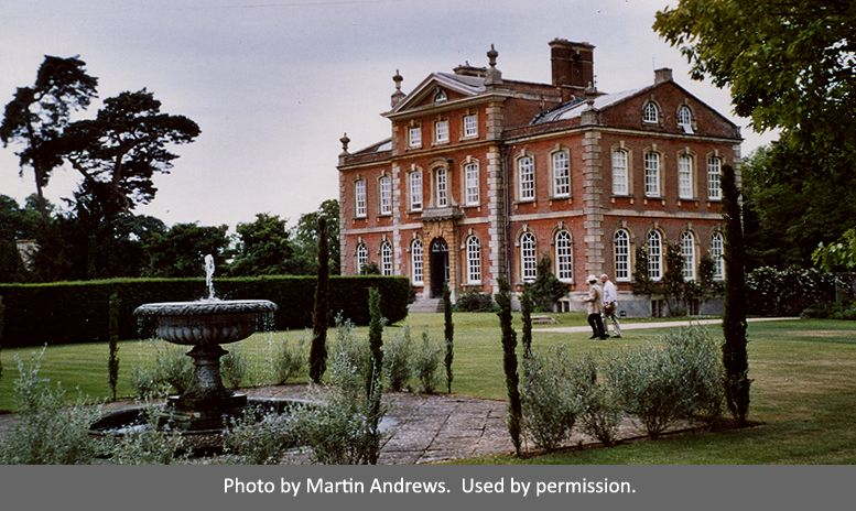 The DiCamillo Companion - Kingston Bagpuize House, Oxfordshire