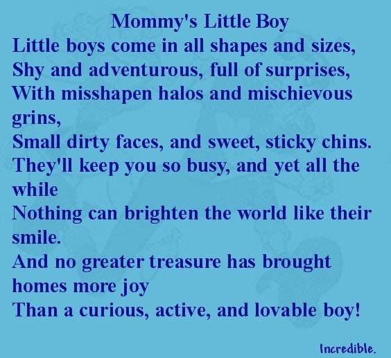 Love everything about him !! | Baby boy poems, Baby boy ...