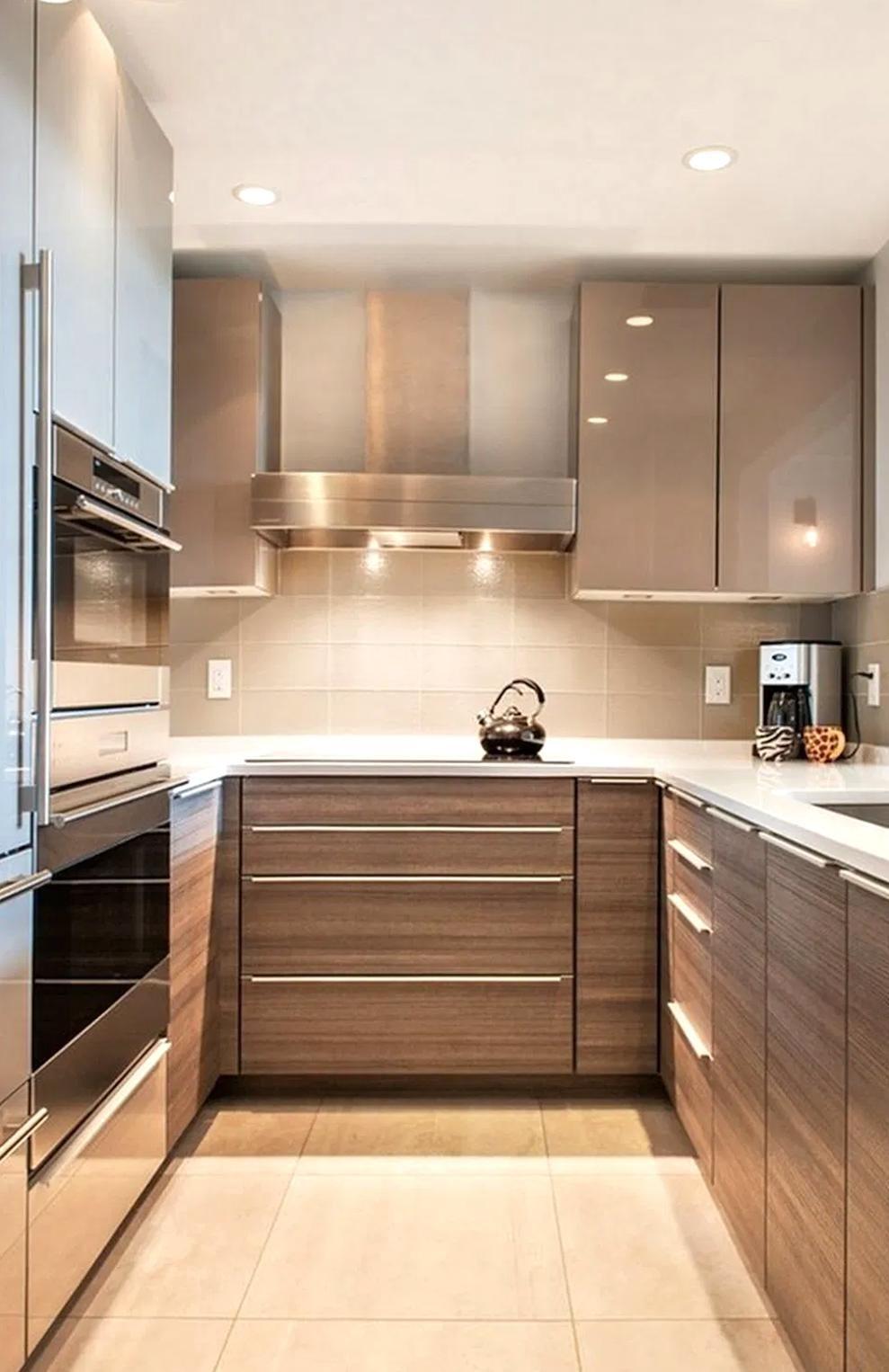Now Trending Minimalist Kitchen Design See Our Top 10 Picks For Best Minimalist Kitchen In 2020 Small Modern Kitchens Kitchen Remodel Small Contemporary Kitchen Design