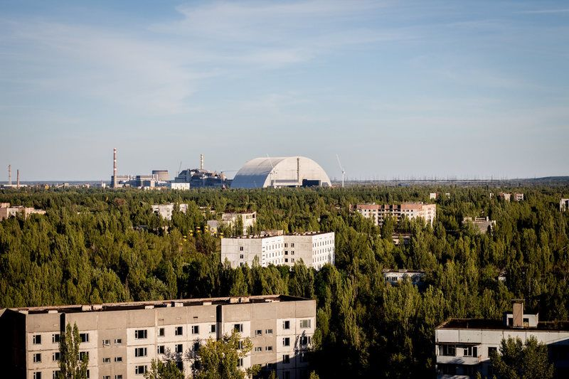 The City The Chernobyl Disaster Left Behind Then And Now Chernobyl Chernobyl Disaster Christ Of The Abyss