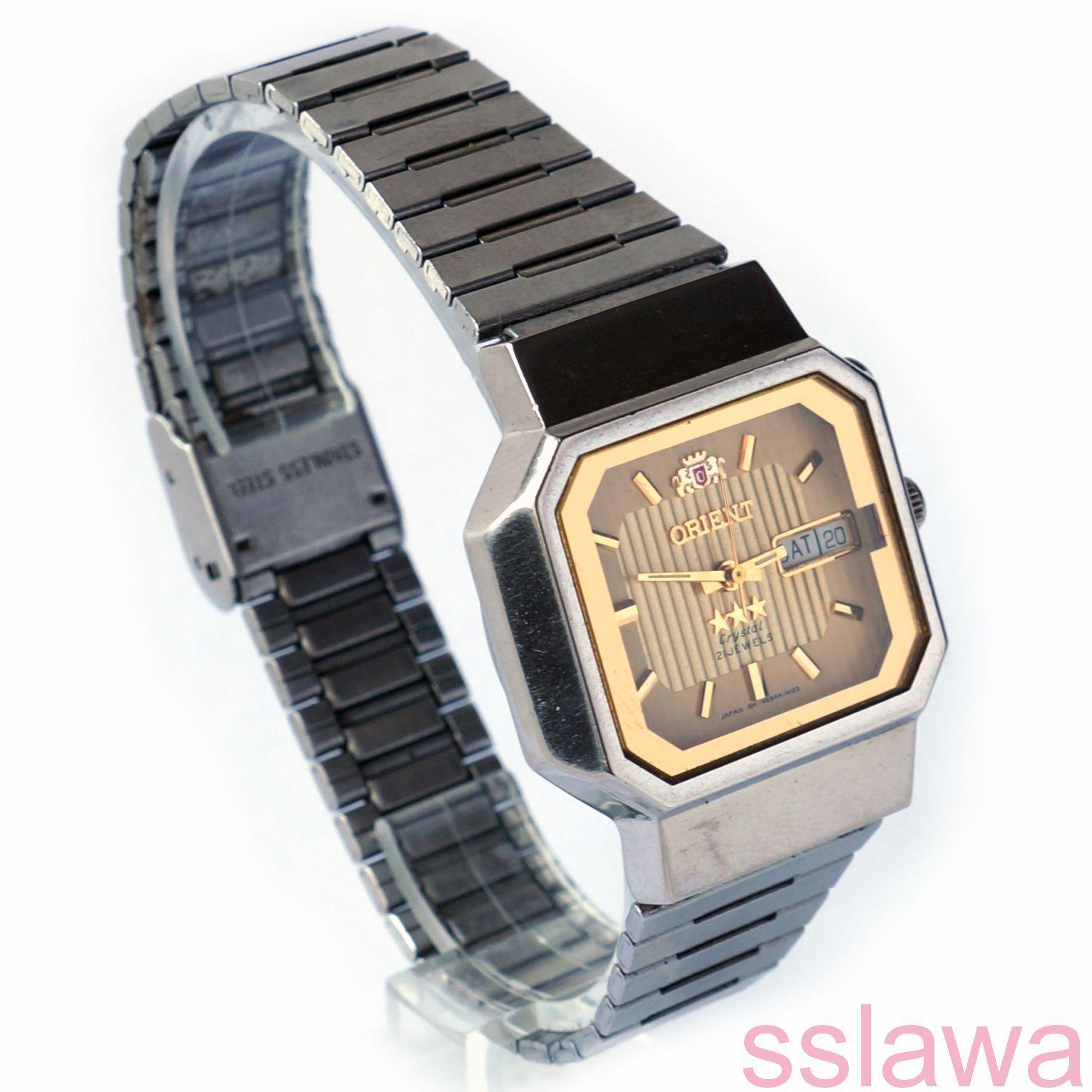 d65d8308 часы Ориент Фреза автоподзавод дата день недели Orient automatic Japan  винтаж #Япония #автоподзавод #