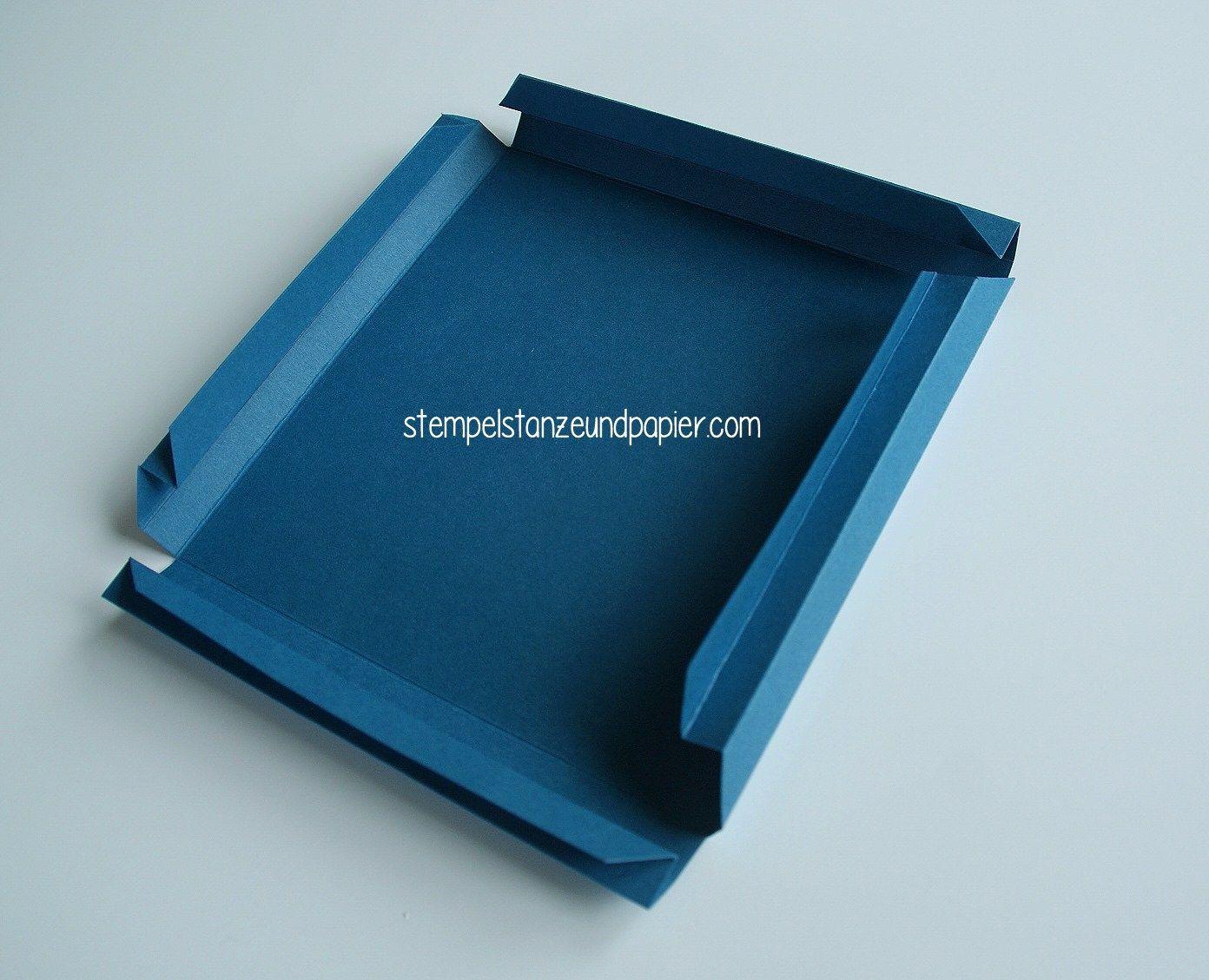 Anleitung für einen Bilderrahmen aus Papier | Origami