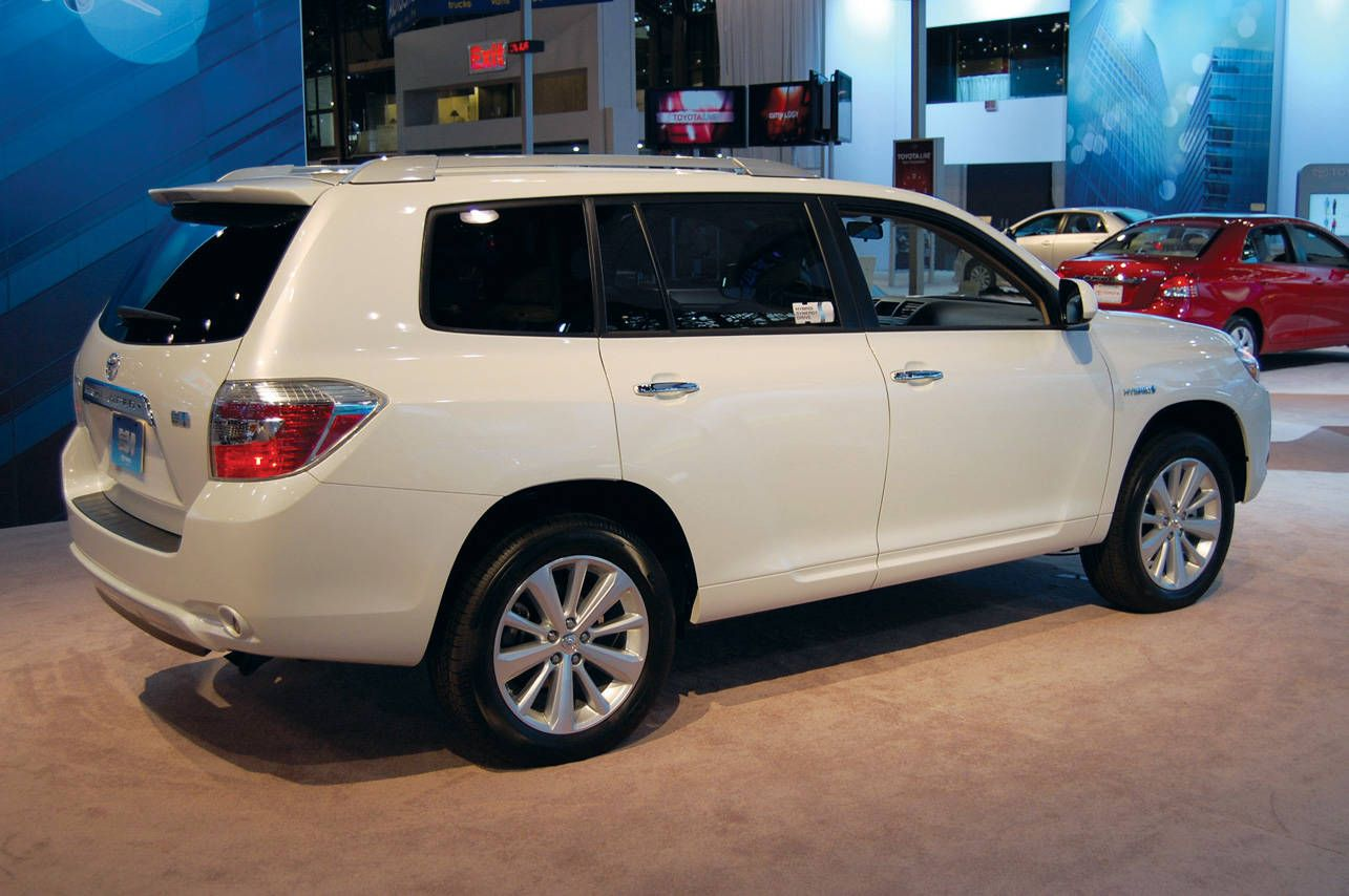 Hybrids At The 2008 New York International Auto Show Toyota Highlander Toyota Toyota 2010