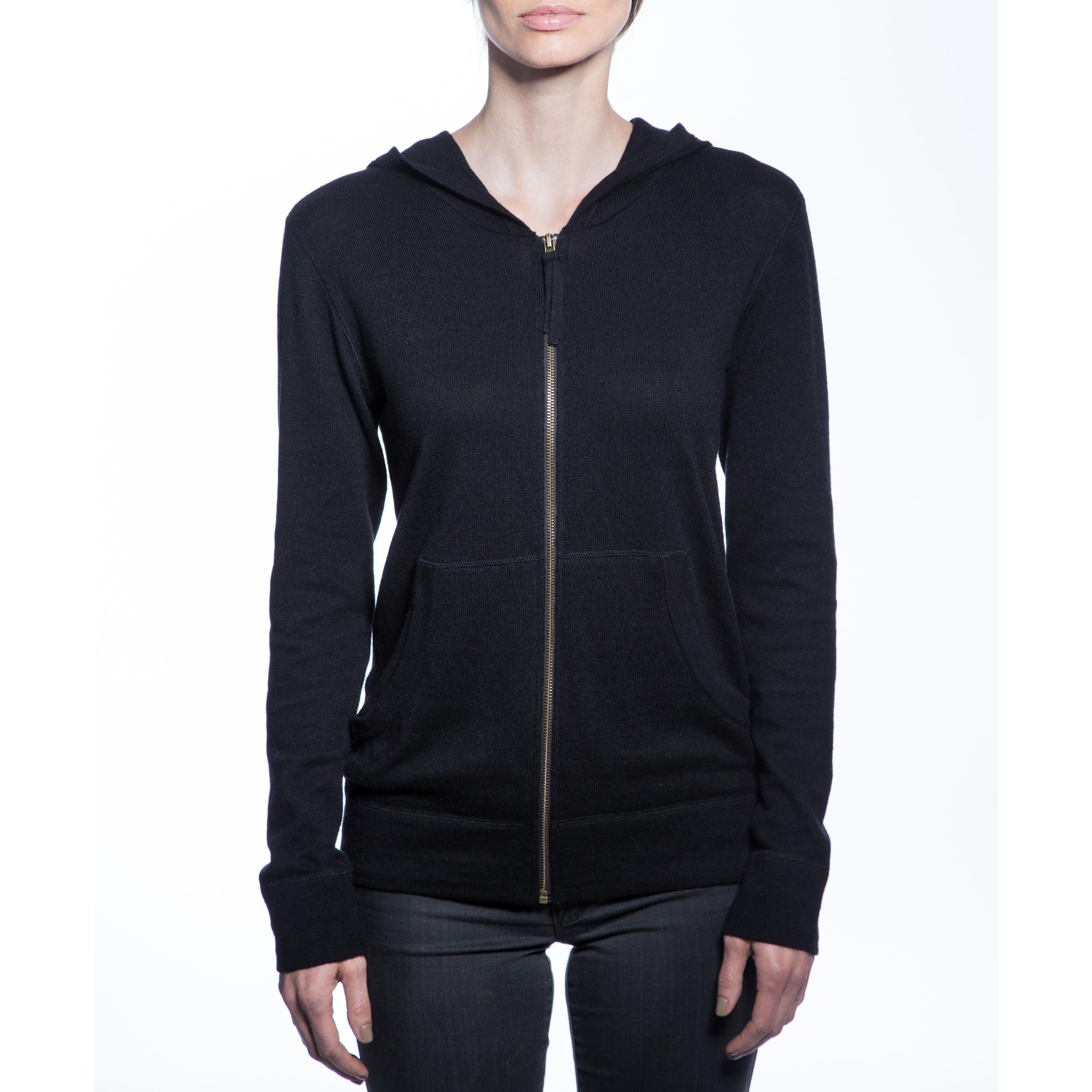 Women's Blend Zip-up Hoodie | Products | Pinterest | Cashmere and ...